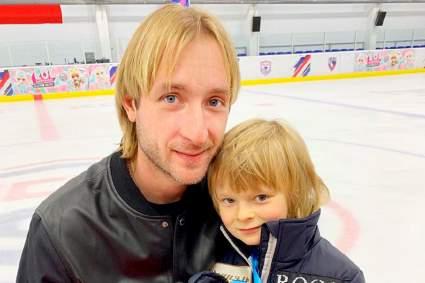 Саша Плющенко считает своего отца примером для подражания
