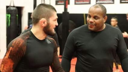 Даниэль Кормье прокомментировал уход Хабиба Нурмагомедова из UFC
