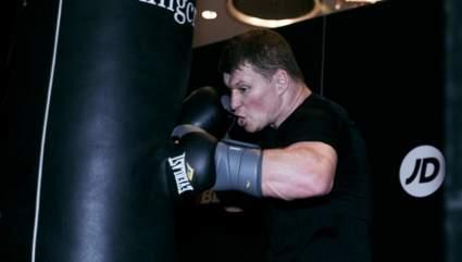 Поветкин провел тренировку в Лондоне перед реваншем с Диллианом Уайтом