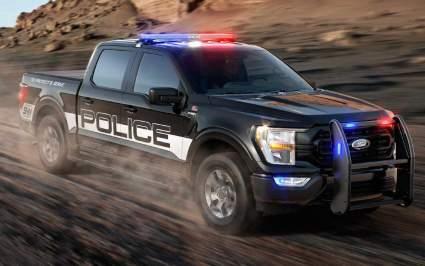 Компания Ford представила обновлённый полицейский пикап F-150 Police Responder