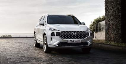 Hyundai представила в РФ спецверсию обновленного кроссовера Hyundai Santa Fe