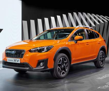 Российские дилеры объявили старт заказов на обновленный кроссовер Subaru XV