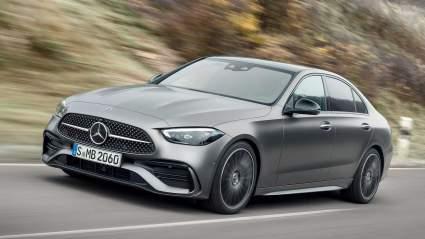 Опубликованы первые снимки Mercedes C-Class с удлиненной колесной базой