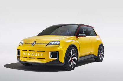 Renault официально представил обновленный логотип бренда на модели Renault 5 Prototype