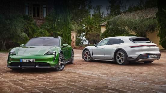 Porsche Taycan Cross Turismo появится в России летом 2021 года