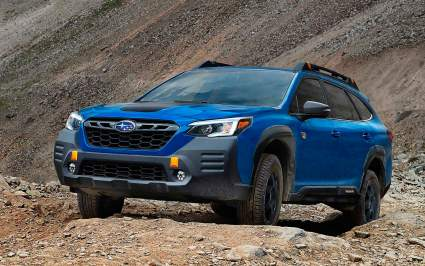 Subaru презентовала внедорожную версию универсала Outback
