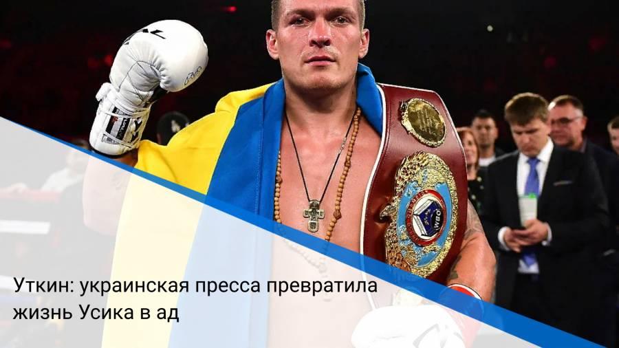 Уткин: украинская пресса превратила жизнь Усика в ад