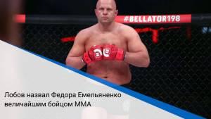 Лобов назвал Федора Емельяненко величайшим бойцом MMA