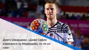 Диего Шварцман: «Даже Сафин извинился за Медведева, но не он сам»