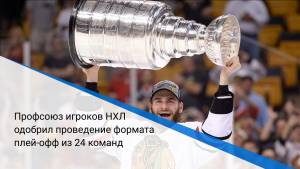 Профсоюз игроков НХЛ одобрил проведение формата плей-офф из 24 команд