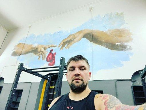 Баста опубликовал тизер документального фильма о боксе перед первым боем в GAZFIGHT