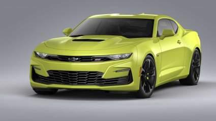 Компания Chevrolet показала гоночный Camaro последней генерации