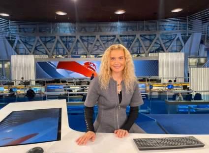 Российский тренер Этери Тутберидзе показала фотографии из студии программы «Время»