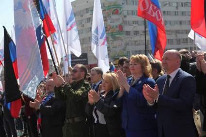 Депутат Госдумы Александр Шерин призвал Россию признать независимость ЛНР и ДНР
