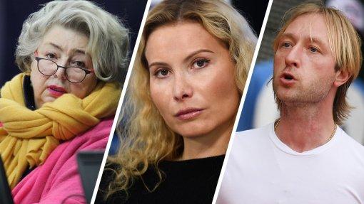 Татьяна Тарасова заявила, что не видит в Плющенко настоящего тренера