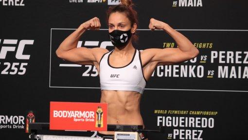 Антонина Шевченко потерпела поражение в поединке с Андреа Ли на UFC 262