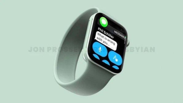 Новые Apple Watch были показаны на изображениях с плоским дизайном