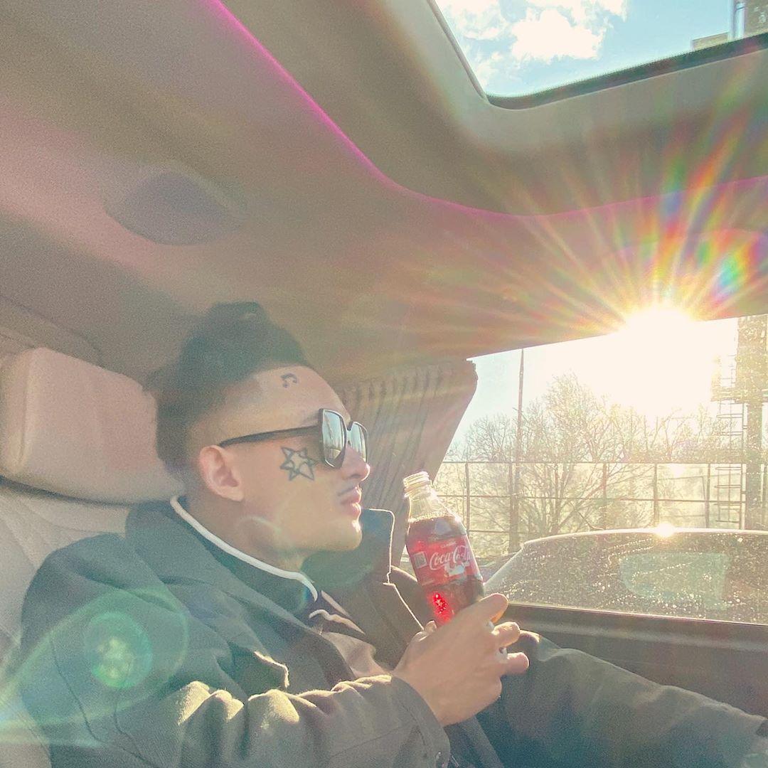 Моргенштерн в салоне нового авто, Instagram