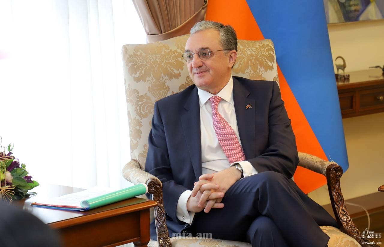 Зограб Мнацаканян, www.mfa.am