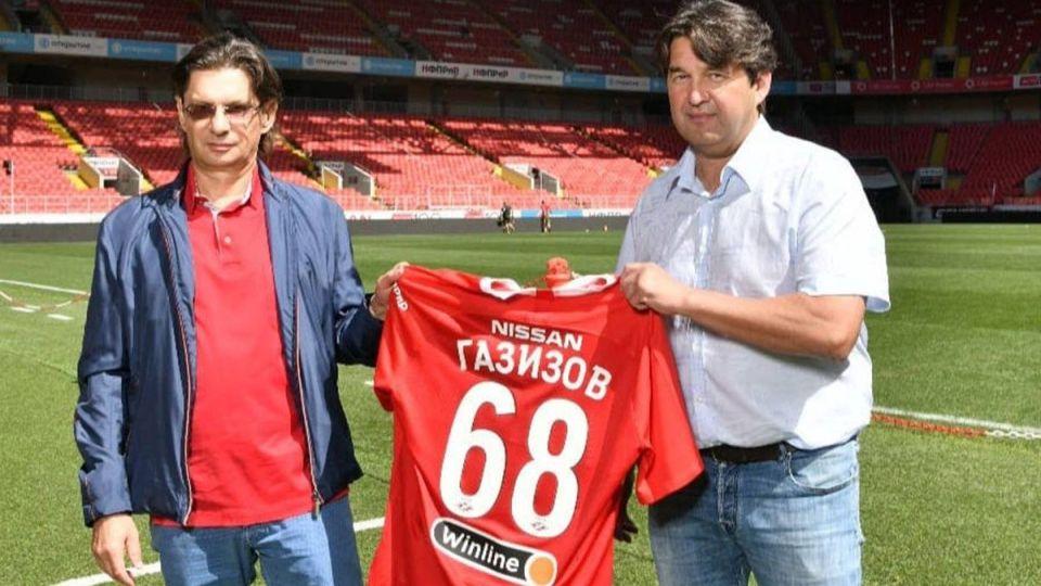 Газизов рассказал о задачах «Спартака» в нынешнем сезоне