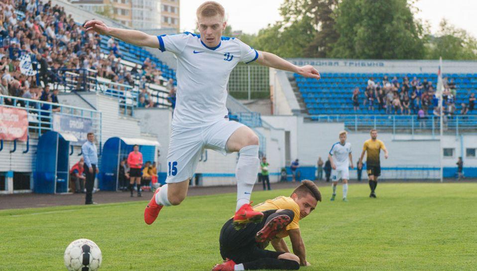 Брянское «Динамо» проведет внутреннее расследование инцидента с футболистом Луканченковым