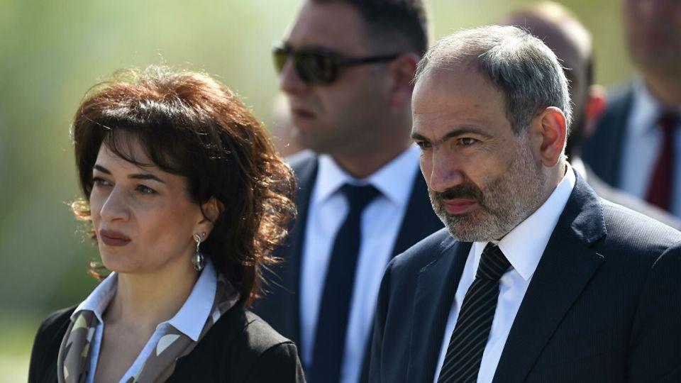 Стало известно о конфликте жены Пашиняна с армянским генералом
