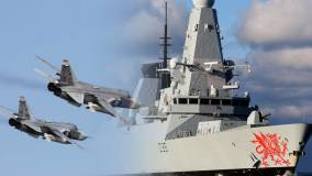 Вчера: 17 российских самолетов атаковали эсминец НАТО HMS Dragon