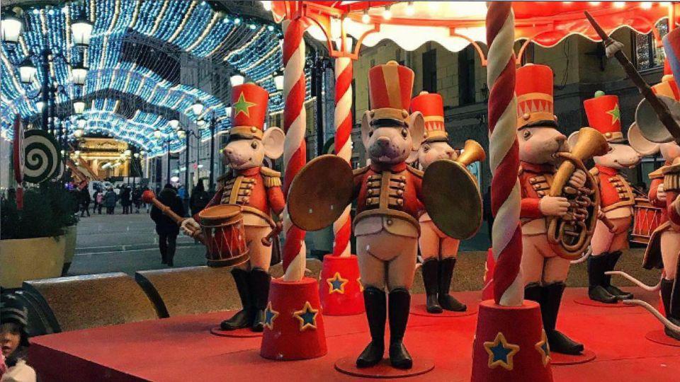 Манежную площадь перекроют из-за Рождественской ярмарки