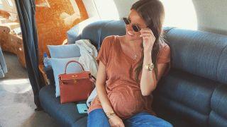 Кети Топурия впервые появилась на публике после подтверждения беременности
