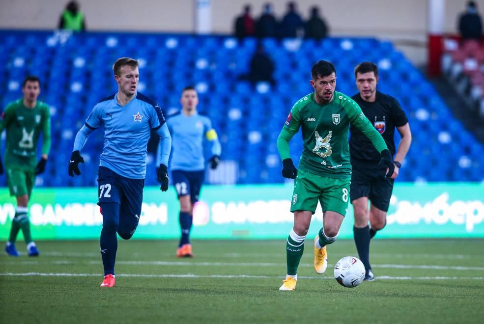 Футболист «Рубина» Йевтич потерял сознание во время матча Кубка России