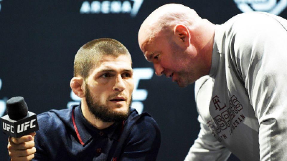 Хабиб Нурмагомедов вернется в бои, уверен глава UFC: Иначе зачем тесты USADA продолжать сдавать?