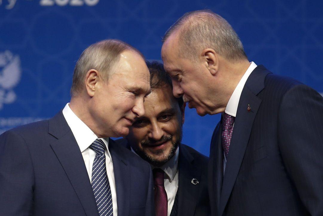 Der Tagesspiegel: Путин и Эрдоган заключили альянс против Запада