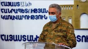 Минобороны Армении сообщает о ранении мирного жителя в результате обстрела Степанакерта