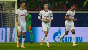 «Локомотив» сыграл вничью с «Атлетико» в Лиге чемпионов