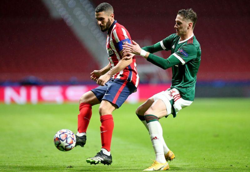 Вчера: «Локомотив» второй раз подряд сыграл вничью с «Атлетико» в Лиге чемпионов