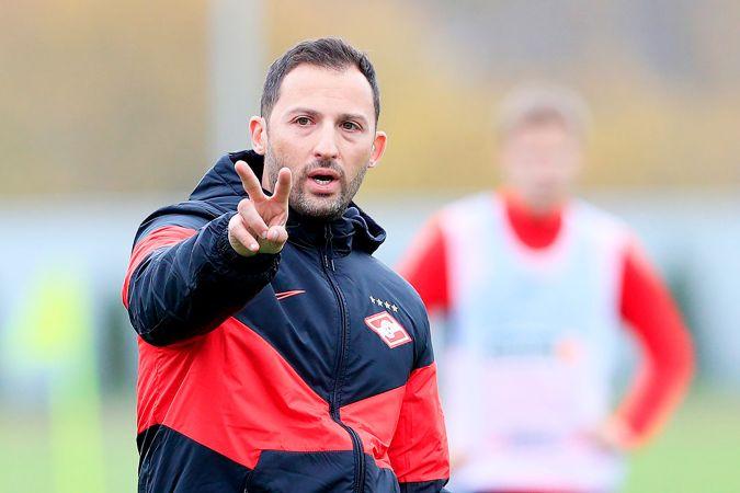 Тедеско рассказал, кто из игроков «Спартака» пропустит матч с «Ротором»