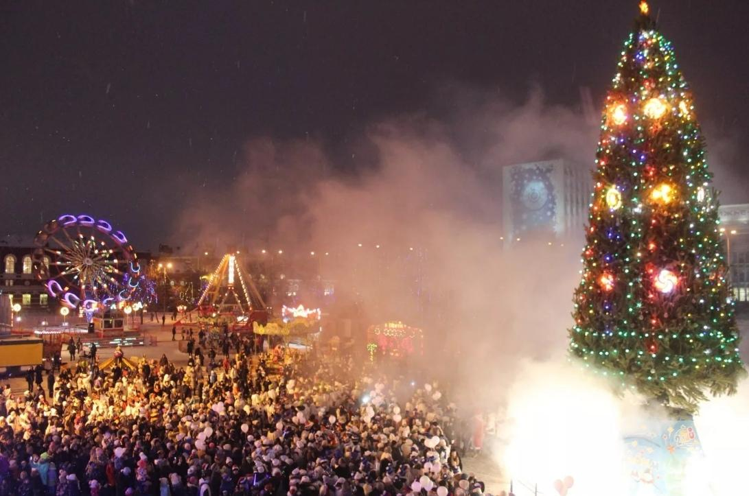 Новый год в Саратове, smartik.ru