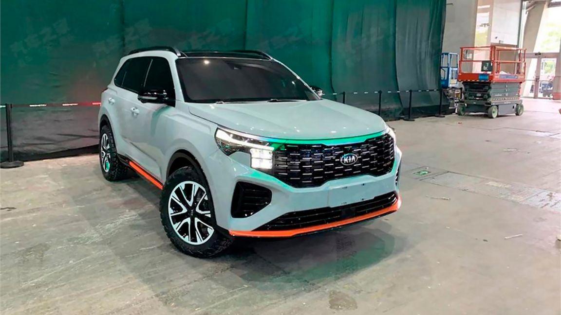 Kia показала обновленный Kia Sportage для рынка Китая