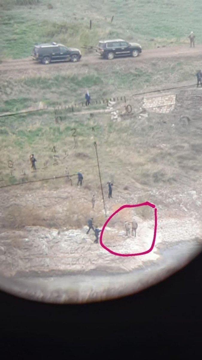 Предположительно Ильхам Алиев в снайперском прицеле, free-news.su