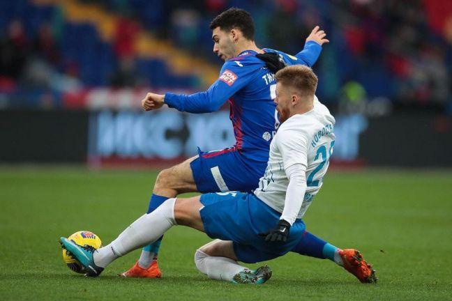 «Сочи» сыграл вничью на выезде с ЦСКА