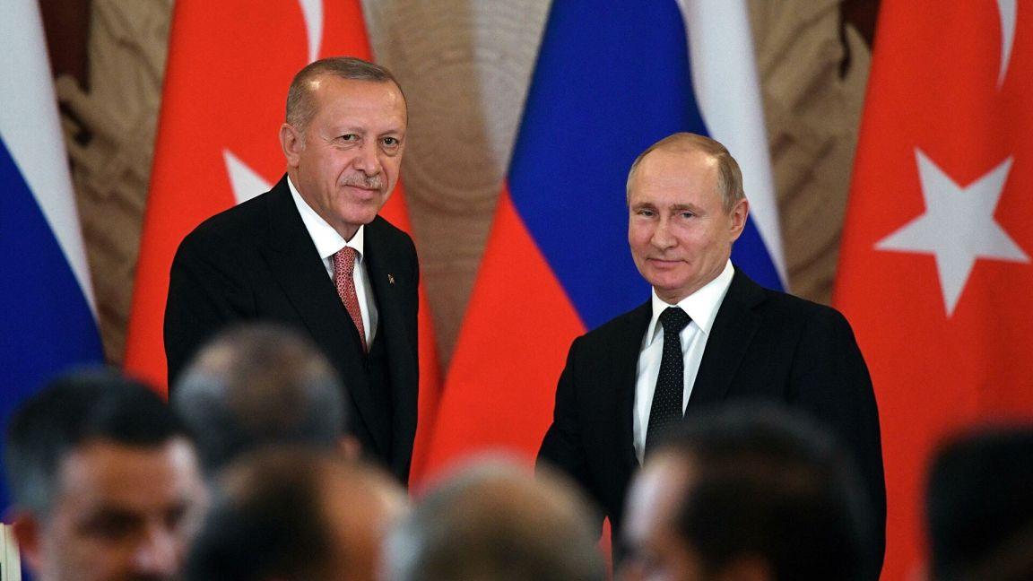 Путин и Эрдоган обсудили трехстороннее соглашение по урегулированию в Нагорном Карабахе