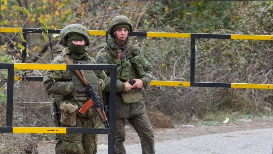 Вчера: В Карабахе были атакованы военные миротворцы из России