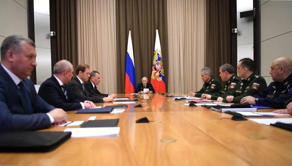 Путин объявил о создании нового пункта управления ядерными силами