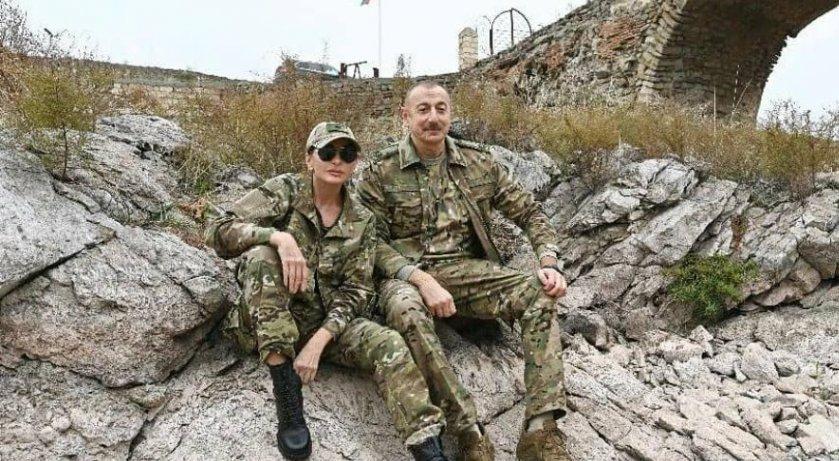 Ильхам Алиев с супругой, telegraf.com.ua