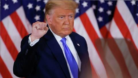 Трамп заявил о своей победе на выборах «по законным голосам»
