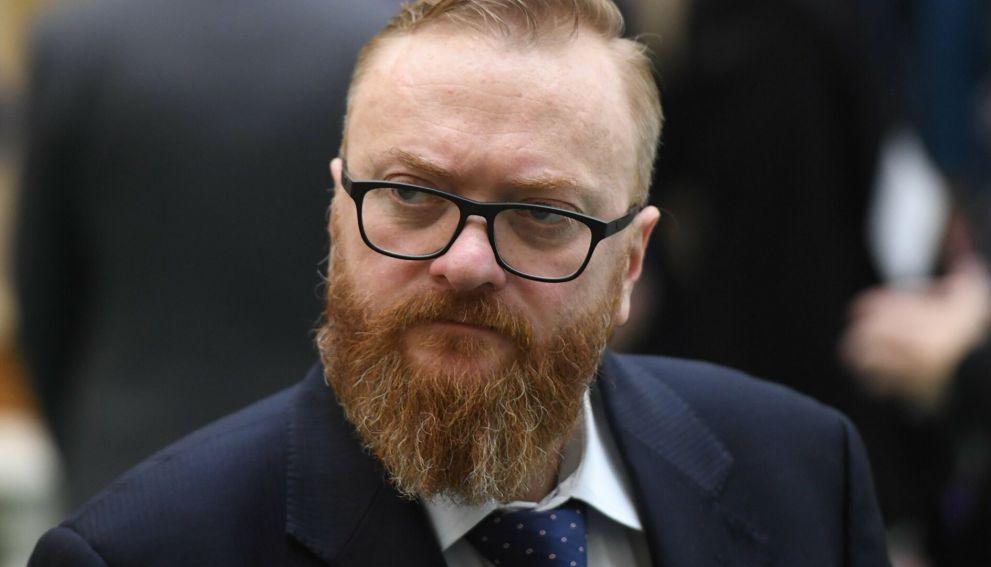 У депутата Госдумы Виталия Милонова диагностирован коронавирус