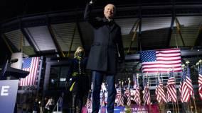 Байден выиграл голосование на первом открывшемся участке в США
