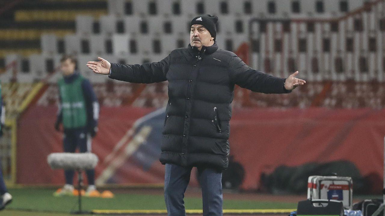 Черчесов отказался уходить в отставку после поражения от сборной Сербии