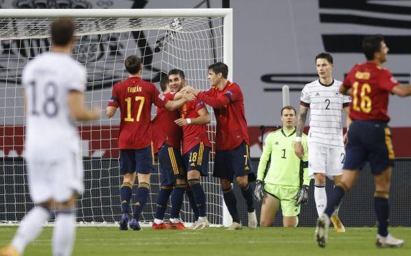 Сборная Германии проиграла Испании в Лиге наций со счетом 6:0