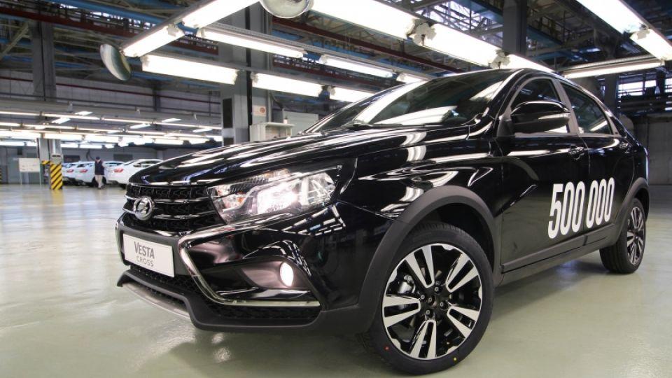 АвтоВАЗ выпустил юбилейный автомобиль Lada Vesta